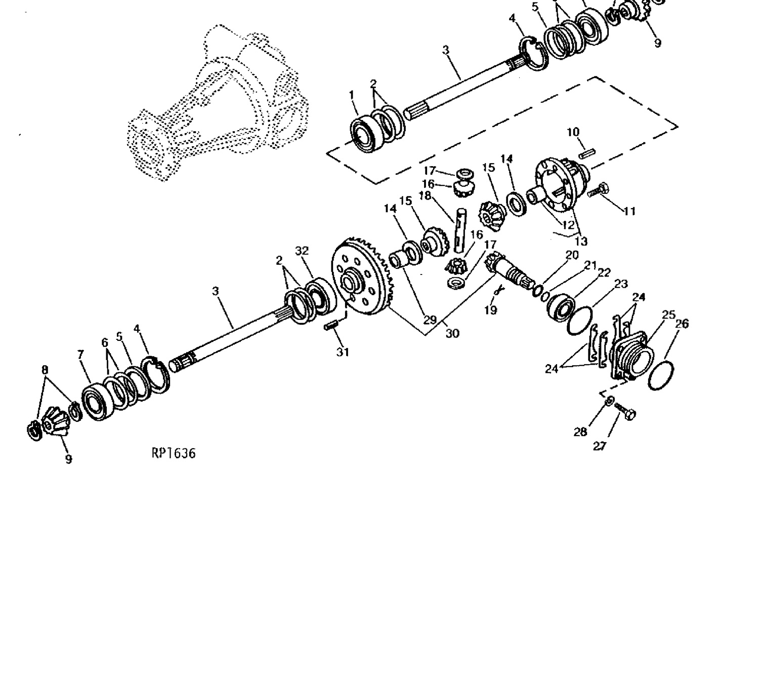 buy your compact tractor parts online \u2022 weaver\u0027s compact John Deere 4310 Front Axle Parts Diagram pulling vs carrying a load