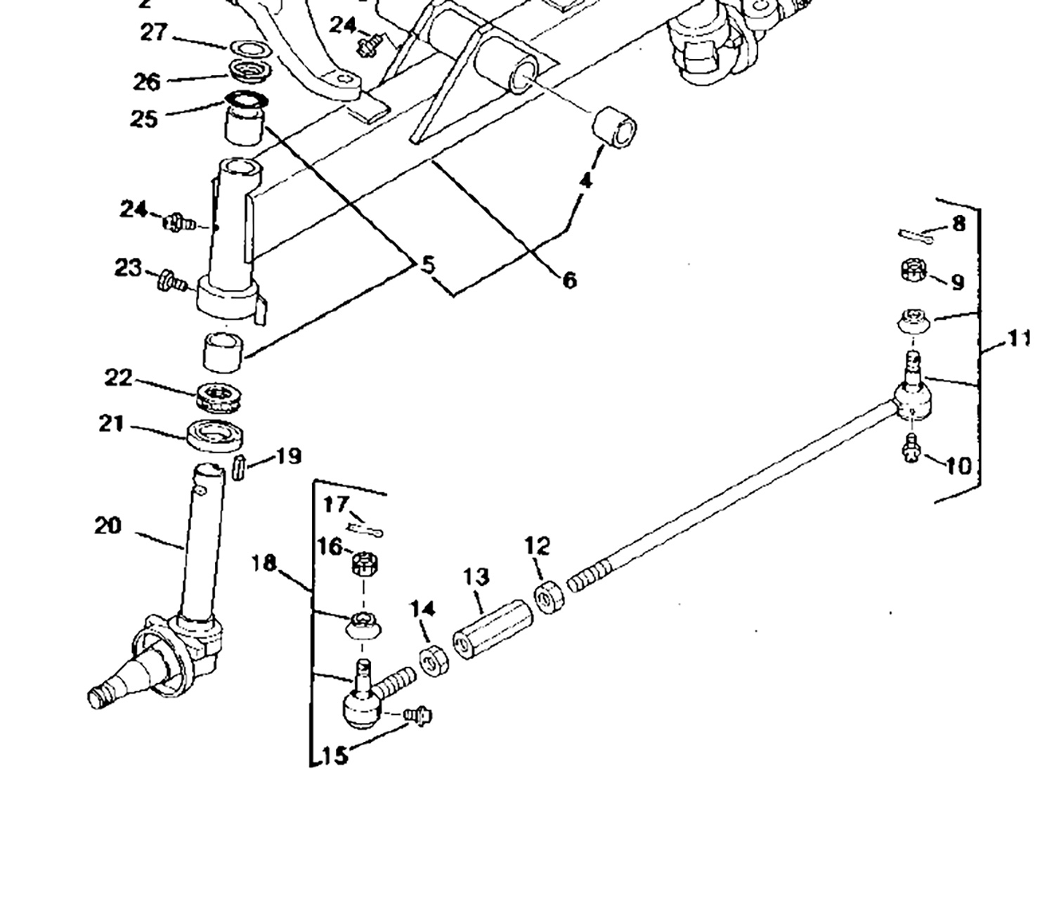 John Deere 755 Parts Diagram besides S777792 besides Search also Steering Arm Tie Rod Ends Knuckle Housing additionally 14wxj 1989 F 250 Need Diagram Replace Ignition. on john deere 4410 parts diagram