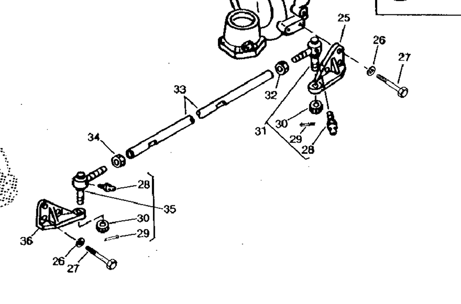 Buy Your Compact Tractor Parts Online Weavers John Deere 950 Wiring Diagram On 790 Tie Rod End Rh Thread For Lh Side