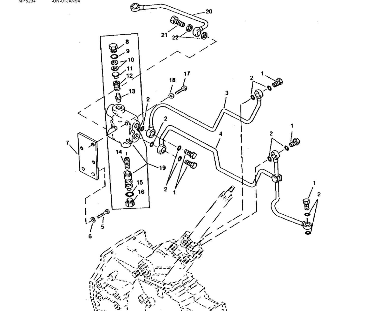 John Deere Schematics 850 on car controls diagram