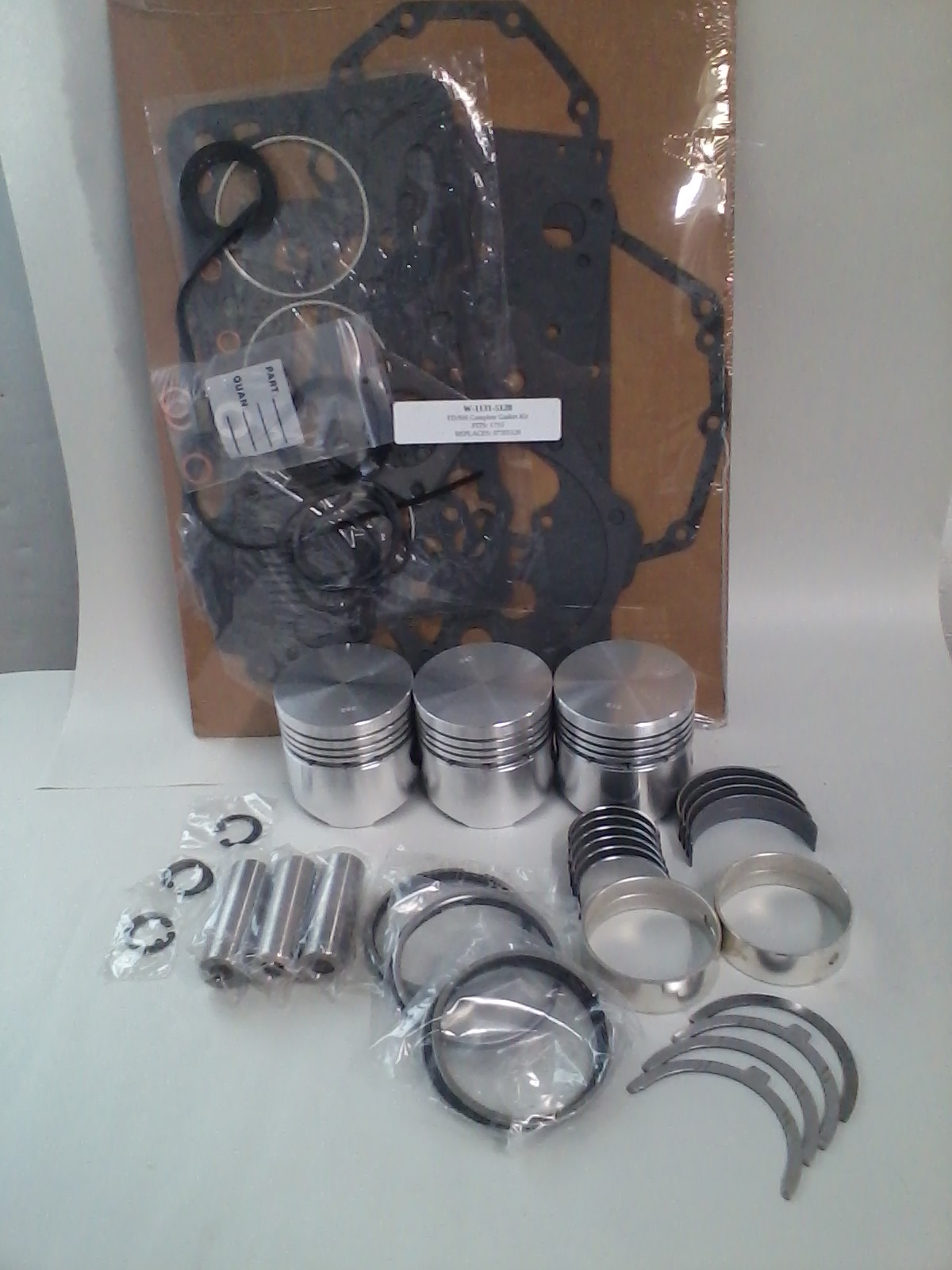 Engine Rebuild Kits for Ford/New Holland Compact Tractor Engines