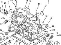 Camshaft Bearings as well 8n Electrical Schematic furthermore Ford 8n Transmission Rear Axle furthermore Farmall H Steering Parts Diagram in addition 6640 Ford Tractor Parts Diagram. on ford 8n pto diagram